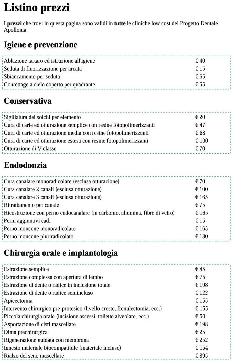 Convenzione Apollonia-Odontosalute