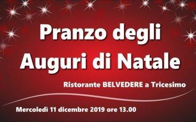 Pranzo degli Auguri di Natale 2019