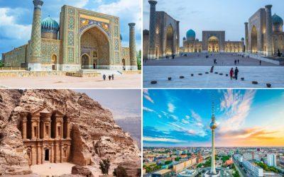 Gite Uzbekistan, Berlino e Giordania